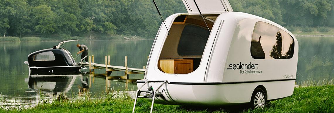 Plovoucí karavan sealander